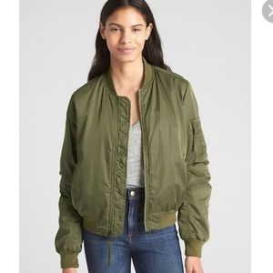 H & M Bomber Jacket Army Green